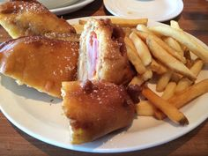 The Monte Cristo sandwich from Cheddars Restaurant