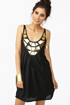 Shattered Metal Dress...why do you do this to me nasty gal!?!