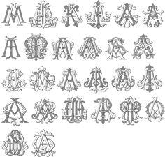 my new venture!! Im designing monograms