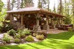 From yellowstonetraditions.com - different designs for building a gazebo