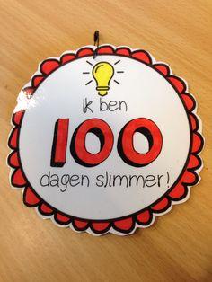 Wij zijn 100 dagen slimmer: medaille