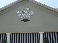 The Magnolia Pancake Haus in San Antonio, TX featured in Diners, Drive-Ins, and Dives. I have to try the cornbeef hash!!!