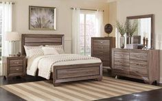 4 PC Kauffman bedroom set