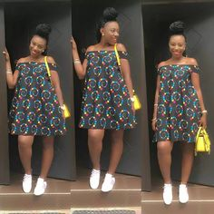 All in all, Ankara short gown is the best choice for female.The reason is that gowns are suitable for any occasion. that make you look chic and attractive. Ankara Short Gown, Short Gowns, Ankara Gowns, Ankara Dress, African Fashion Ankara, African Fashion Designers, African Print Dresses, African Dress, African Prints