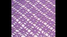 Crochet Diamond Stitch - YouTube