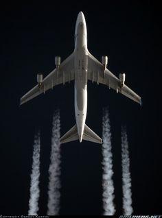An Air New Zealand 747 cruising high over Russia. Sergey Kustov