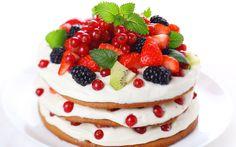 Fruit Cake- HD Wallpaper