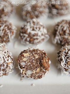 sugar free choc balls