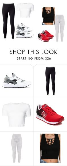 """""""Untitled #8"""" by asiaa74 on Polyvore featuring NIKE, Jockey, Rosetta Getty and New Balance"""
