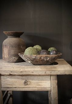 Originele oude houten Bak/Trog