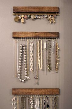 9 Clever Ways To Display Jewelry At Home + DIY Project Tutorials To Make Your Own!