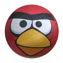 "Angry Birds 8"" Playground Red Ball in Display Box by Angry Birds. $20.95. From the Manufacturer                Angry Birds is the #1 app worldwide and has been downloaded over 100 million times. Textured ball is great for indoor or outdoor play. A must for every Angry Birds fan.                                    Product Description                Angry Birds 8 1/2 Playground Ball Red Bird"
