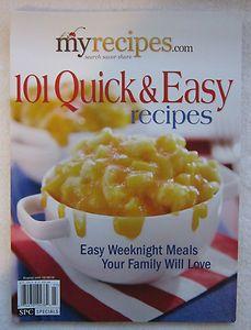 101 Quick & Easy Recipes (U)