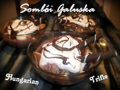Somlói Galuska - Hungarian Trifle: http://hungarianfoodguide.blogspot.hu/2013/02/somloi-galuska-hungarian-trifle.html#more