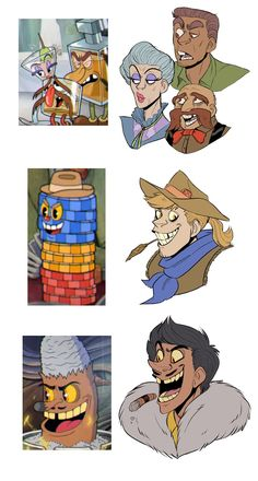 Cuphead Bosses as Humans Cartoon Characters As Humans, Fantasy Characters, Cartoon Games, Cartoon Art, Character Concept, Character Art, Cuphead Game, Deal With The Devil, Anime Version