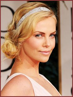 Side Swept Wedding Hairstyles on Swept Wedding Updo Side Celebrity Inspired Style Hair And Beauty