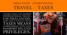 Freelancer - International Travel - Taxes http://bit.ly/2BFF7Vw