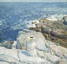 The South Ledges, Appledore, 1913 by Childe Hassam.