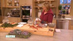 Making Ice Bundt Sculptures with Martha Stewart