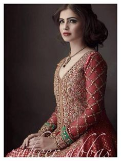 Pakistani Bridal Wear - Pretty colours