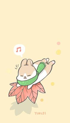 Rabbit Wallpaper, Kawaii Wallpaper, Tumblr Wallpaper, Wallpaper Backgrounds, Iphone Wallpaper, Art Painting Gallery, Cute Pins, Cute Stickers, Cute Wallpapers