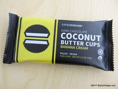 Dark Chocolate Banana Cream Coconut Butter Cups by Eating Evolved Banana Cream, Vegan Chocolate, Whole Food Recipes, Cups, Coconut, Butter, Dark, Mugs, Butter Cheese