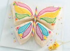 Betty Crocker butterfly cake