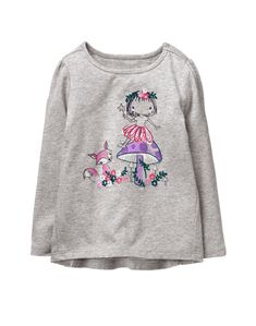 NWT GYMBOREE Fairytale Forest OWL Tee Shirt  toddler girls ManySizes