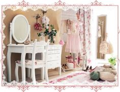 Dressing room for a princess