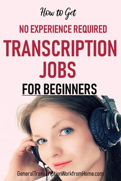 How to Get Transcription Jobs with NO Experience and NO Certification? - Work from Home Jobs, Online Jobs & Side Hustles Transcription Jobs From Home, Transcription Jobs For Beginners, Make Money Fast, Make Money From Home, Make Money Online, Best Online Jobs, Online Jobs From Home, Online Careers, Work From Home Tips