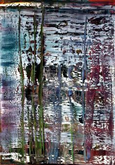 Gerhard Richter » Art » Paintings » Abstracts » Abstract Painting » 813-2