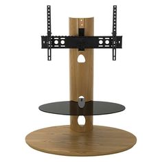 """BuyAVF Affinity Plus Chepstow 930 TV Stand With Mount For TVs Up To 55"""", Oak Online at johnlewis.com"""