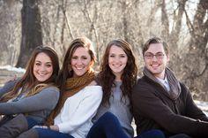 JV Photography Winter Family Photo Shoot