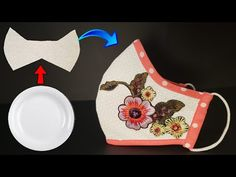 Sewing Basics, Sewing Tips, Sewing Hacks, Sewing Tutorials, Easy Face Masks, Diy Face Mask, Mascarillas Peel Off, Diy Embroidery Designs, Cool Things To Make