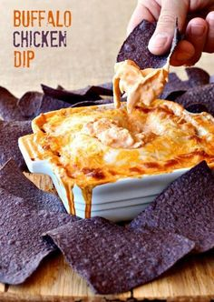 You're going to love my twist on this classic Buffalo Chicken Dip recipe!