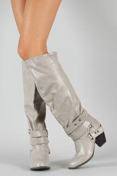 Qupid Priority-32 Strappy Knee High Boot $42.20