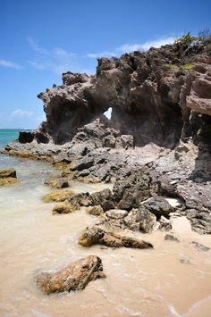 coeur dans le rocher de Cap Macré