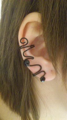 Pitch Black inspired Ear Cuff by 77Flower77 on Etsy, kr45.00