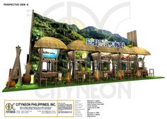 - by Raymond Legaspi Exhibition Booth Design, Exhibit Design, Stand Design, Display Design, Stand Feria, Trade Show, Traditional Wedding, Philippines, Pergola