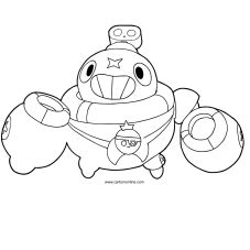 Desenhos de Brawl Stars para colorir Blow Stars, Star Coloring Pages, Star Art, Aesthetic Anime, Beading Patterns, Pokemon, Profile, Posts, Website