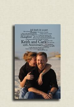 Photo and word canvas art    For wedding day, not anniversary   @Jessi Puckett