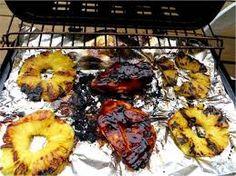 Pineapple & BBQD FOOD