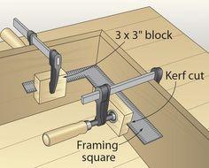 Squaring system: