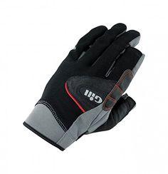 Gill Championship Long Finger Sailing Gloves 2017 - Black