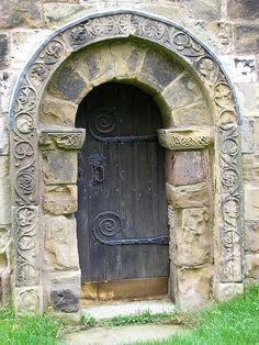Beautiful mystical door