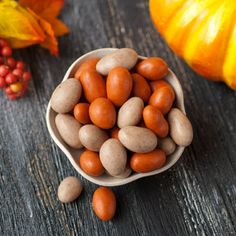 I am a *DEFINITE* Foodie.  I have enjoyed many delicious bites.  So when I say   These almonds are some of Thee Tastiest bites I have ever experienced,  I Mean It!!!! Try them & see if you agree. Pumpkin Pie Almonds