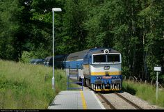 RailPictures.Net Photo: CD 754 057 8 Ceske Drahy CD 754 at Mezipotoci, Czech Republic by Jaroslav Dvorak