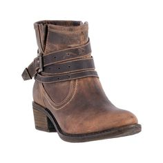 Dingo Western Boots Womens Leather Round Toe Lightweight Tan DI 658