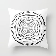 Simple black and white image taken from the edge of one of my intricate hand drawn designs and reworked with a Scandinavian