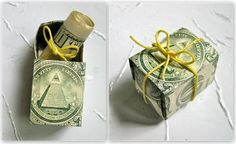 clever ways to gift money